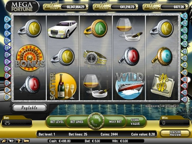 mobile online casino mega fortune