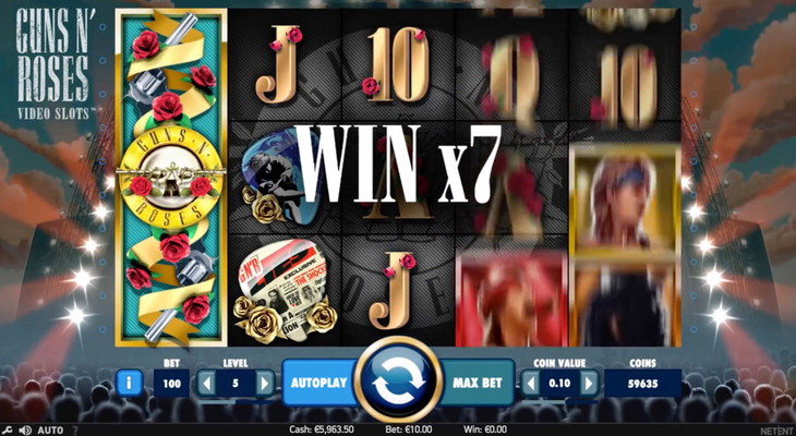 guns n roses online slot machine