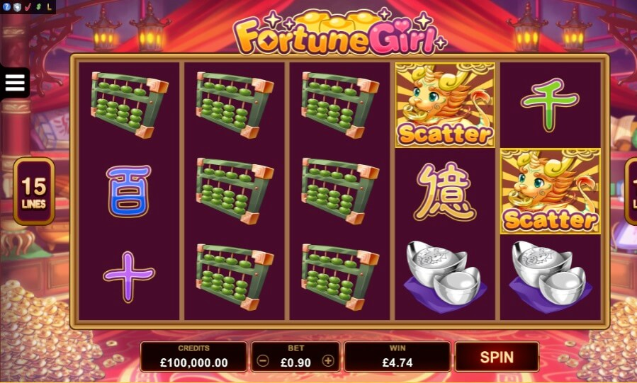 fortune girl slot review