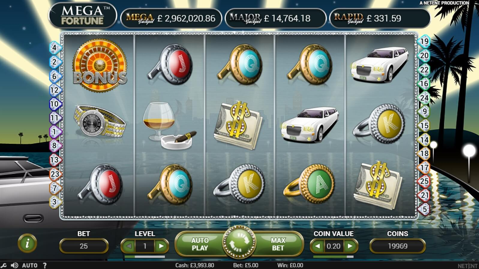 mega fortune jackpot slot review free spins